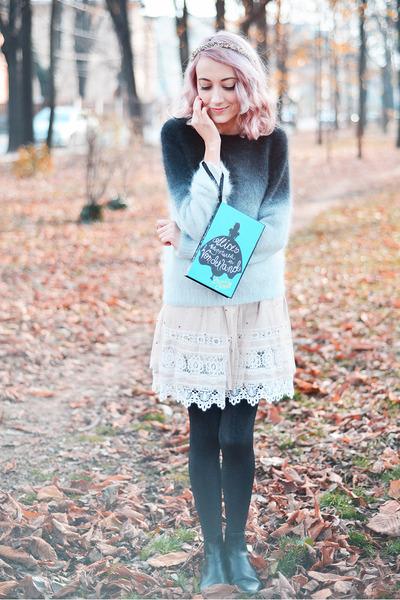 heather gray H&M sweater