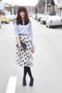 Zara-sweater-heart-print-asos-skirt-asos-necklace