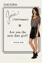 Joie Girl Contest on Chictopia!