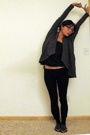 Helmut Lang jacket - Old Navy top - brandless pants - Urban Outfitters socks