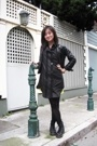 Alexander Wang dress - Gap jacket - Doc Marten shoes - Old Navy dress