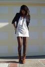 H&M top - Zara vest - Stella McCartney blazer - Iosselliani bracelet