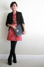Michael Kors dress - The Limited blazer - payless shoes - vintage belt