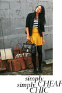 blazer - skirt - accessories