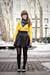 Gold-top-black-skirt