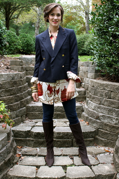 Burberry blazer - blouse