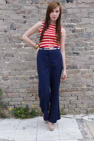 pants - vintage tank top