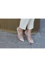 Cream-heels-pumps-sole-society-shoes-pink-clutch-fringe-katherine-kwei-bag