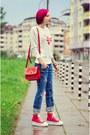 Nowistyle-sweatshirt-ripped-diy-jeans-platform-nowistyle-sneakers