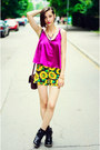 Sunflowers-choies-shorts-cami-choies-top