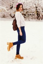 Choies boots - high waisted just female jeans