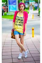 t-shirt nowIStyle shirt - nowIStyle blazer - Reebok sneakers