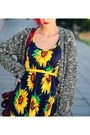 Sunflower-vintage-dress-asos-cardigan
