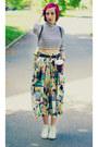 Diy-top-vintage-skirt