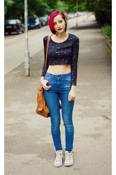 asos top - asos jeans