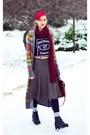 Multicolors-asos-cardigan-zara-second-hand-skirt