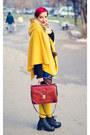 Mustard-cape-cape-la-redoute-socks