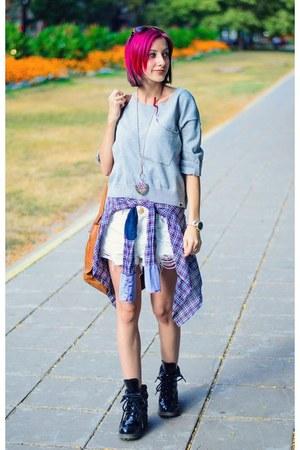 Ichi sweater - Zara shirt