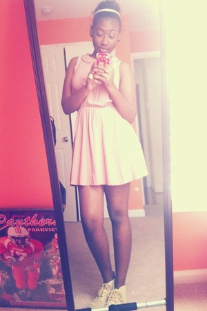 light pink Forever 21 dress