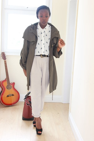 H&M shirt - Zara bag - H&M pants