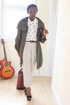 H&M shirt - Zara bag - H&M pants
