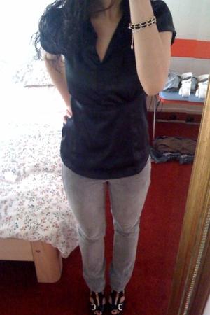 Vero Moda shirt - Mango pants -  shoes