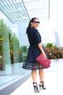Haute-hippie-shirt-asos-skirt-joie-heels