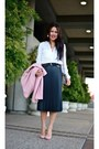 Banana-republic-coat-zara-skirt