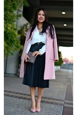 banana republic coat - Zara skirt