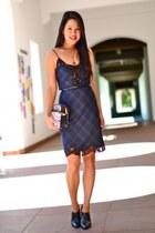 wedge booties Kenneth Cole boots - Zara dress - Rebecca Minkoff bag