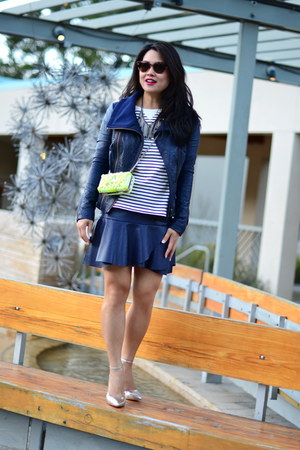 catherine malandrino jacket - Zara skirt