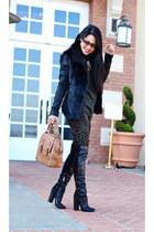 BLANKNYC jacket - Zara pants