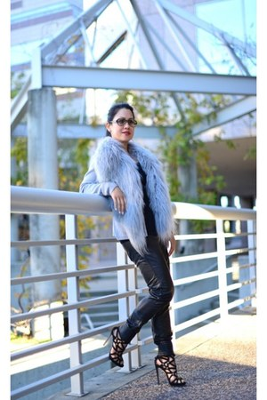 Giorgio Armani shoes - Glamorous pants - haute hippie cardigan