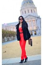 Yoana Baraschi coat - Rafe bag - Topshop romper