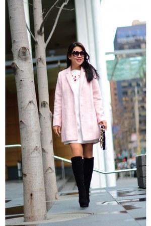 Zara dress - Topshop coat