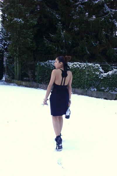 Zara dress - unknown boots
