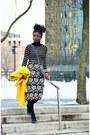 Yellow-wool-jcrew-coat-black-pencil-skirt-joa-skirt