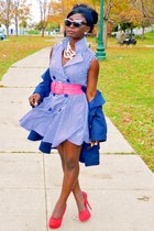 blue Fashion Biscuit dress
