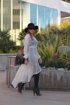 free people dress - Chanel bag