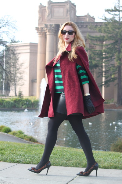 crimson Zara coat