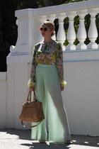 aquamarine Zara pants