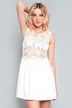 Barely There Crochet Dress