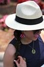 Eggshell-panama-forever-21-hat-brown-anthropologie-sunglasses