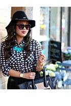 black UrbanOG boots - black Forever 21 hat - black White Plum Boutique shirt