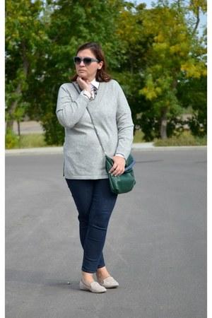 nydj jeans - Ralph Lauren shirt - JCrew loafers