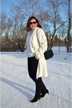H&M coat - Zara pants