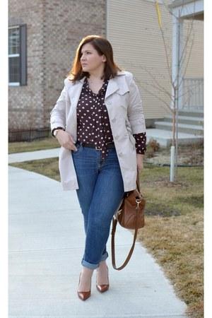 Old Navy jeans - Loft shirt - Zara heels