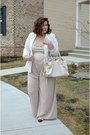 Chanel-shoes-forever-21-blazer-zara-pants