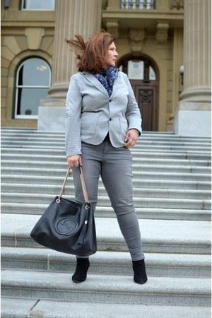 Old Navy jeans - H&M blazer - Gucci bag