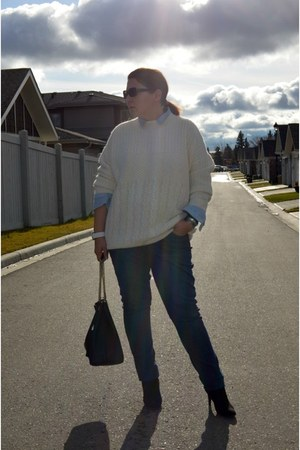 Old Navy jeans - Topshop sweater - Gucci bag